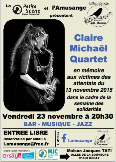 CLAIRE MICHAEL QUARTET